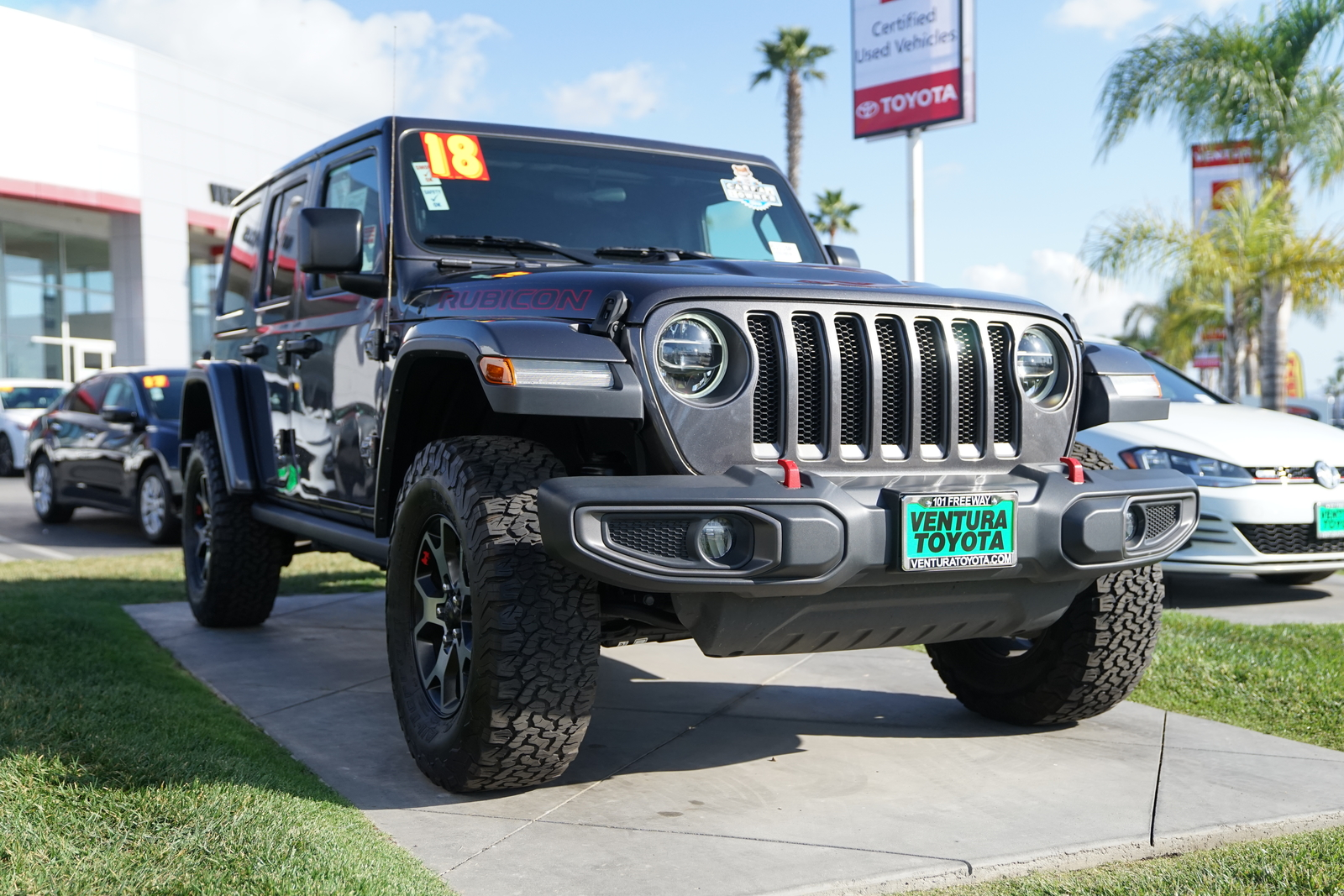 Pre-Owned 2018 Jeep Wrangler Unlimited Rubicon 4x4