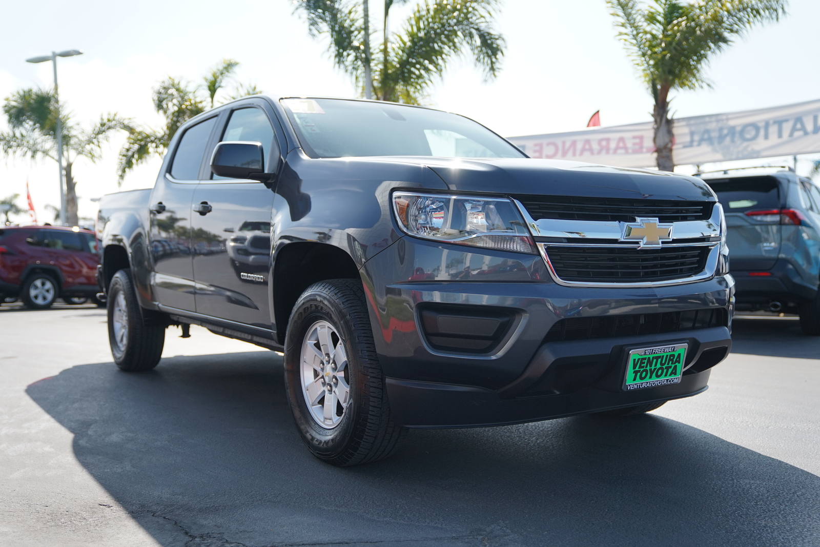 Pre-Owned 2017 Chevrolet Colorado 2WD Crew Cab 128.3 WT