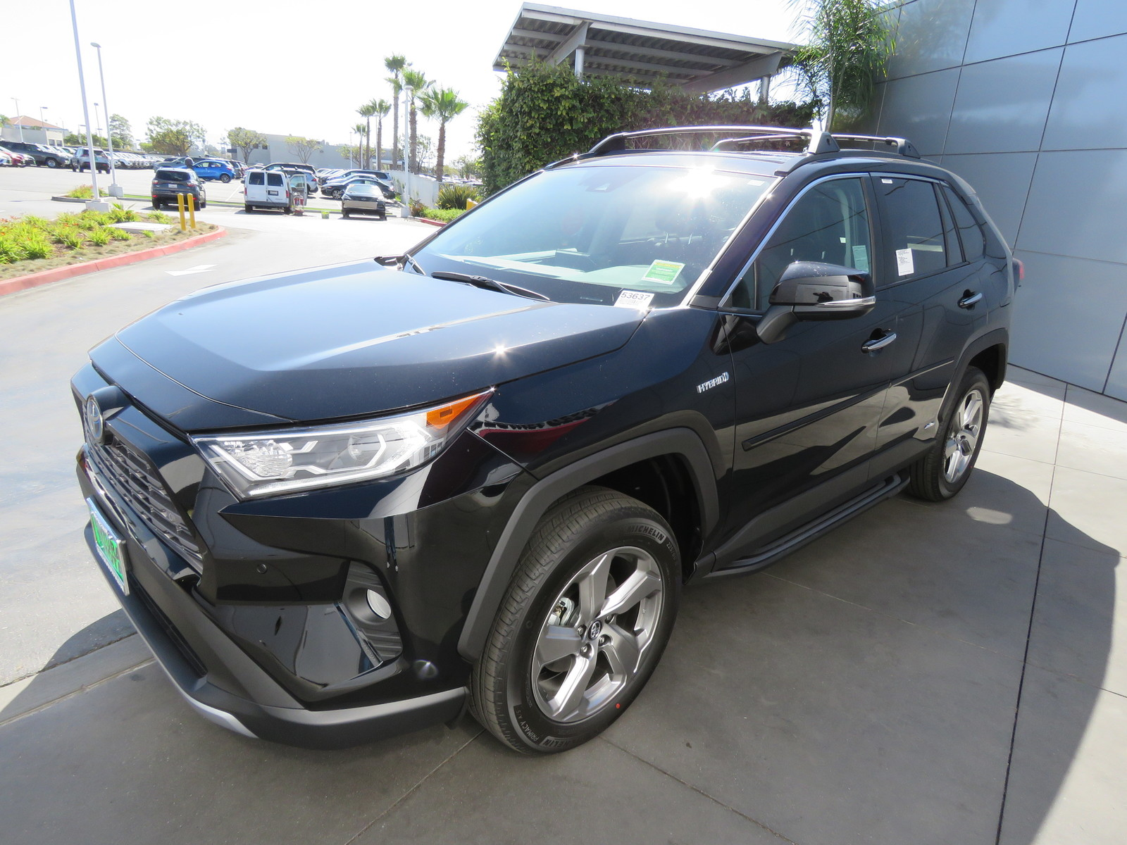 New 2019 Toyota RAV4 Hybrid Limited AWD