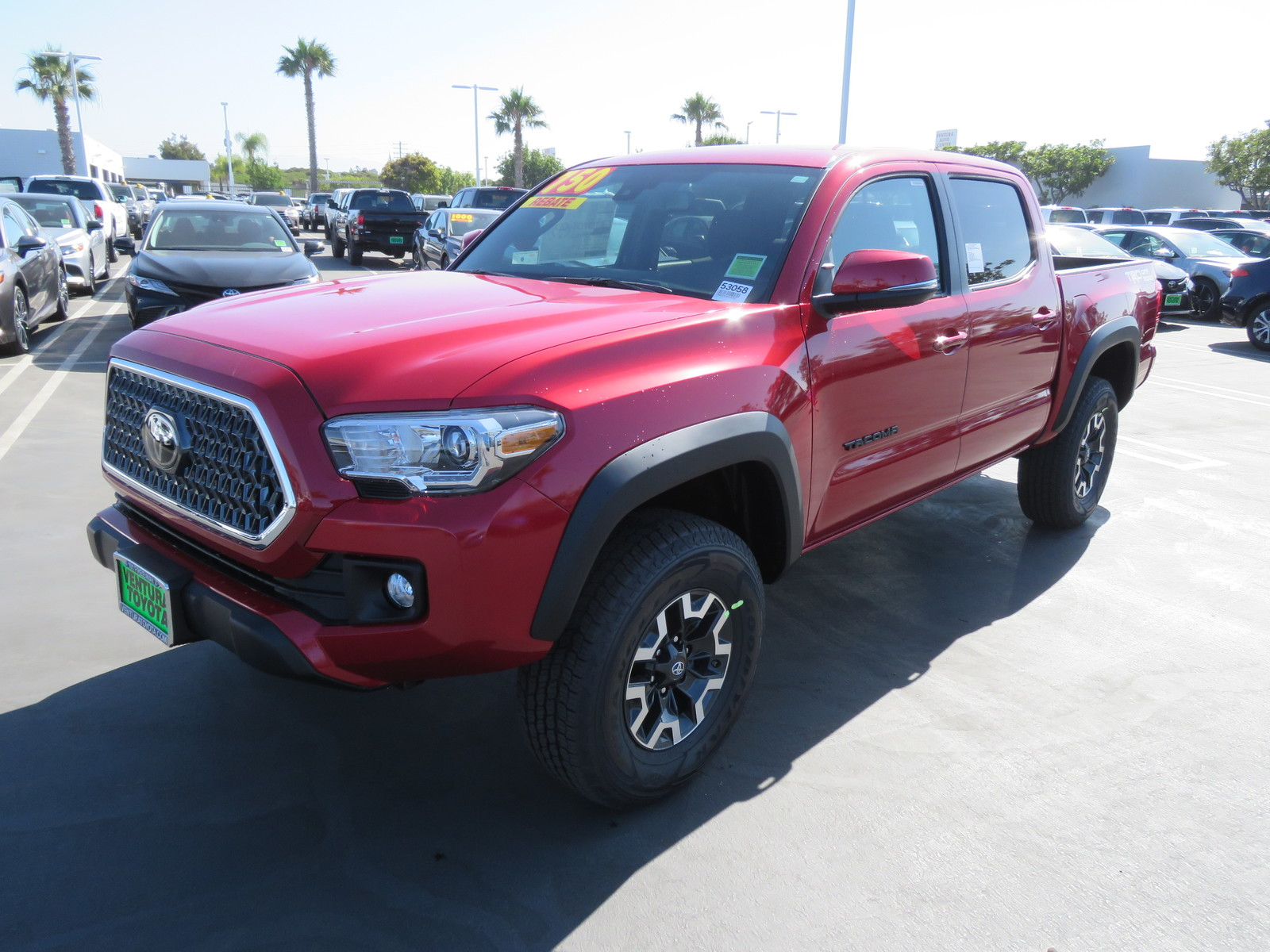 New 2019 Toyota Tacoma 2WD TRD Off Road Double Cab 5' Bed V6 A