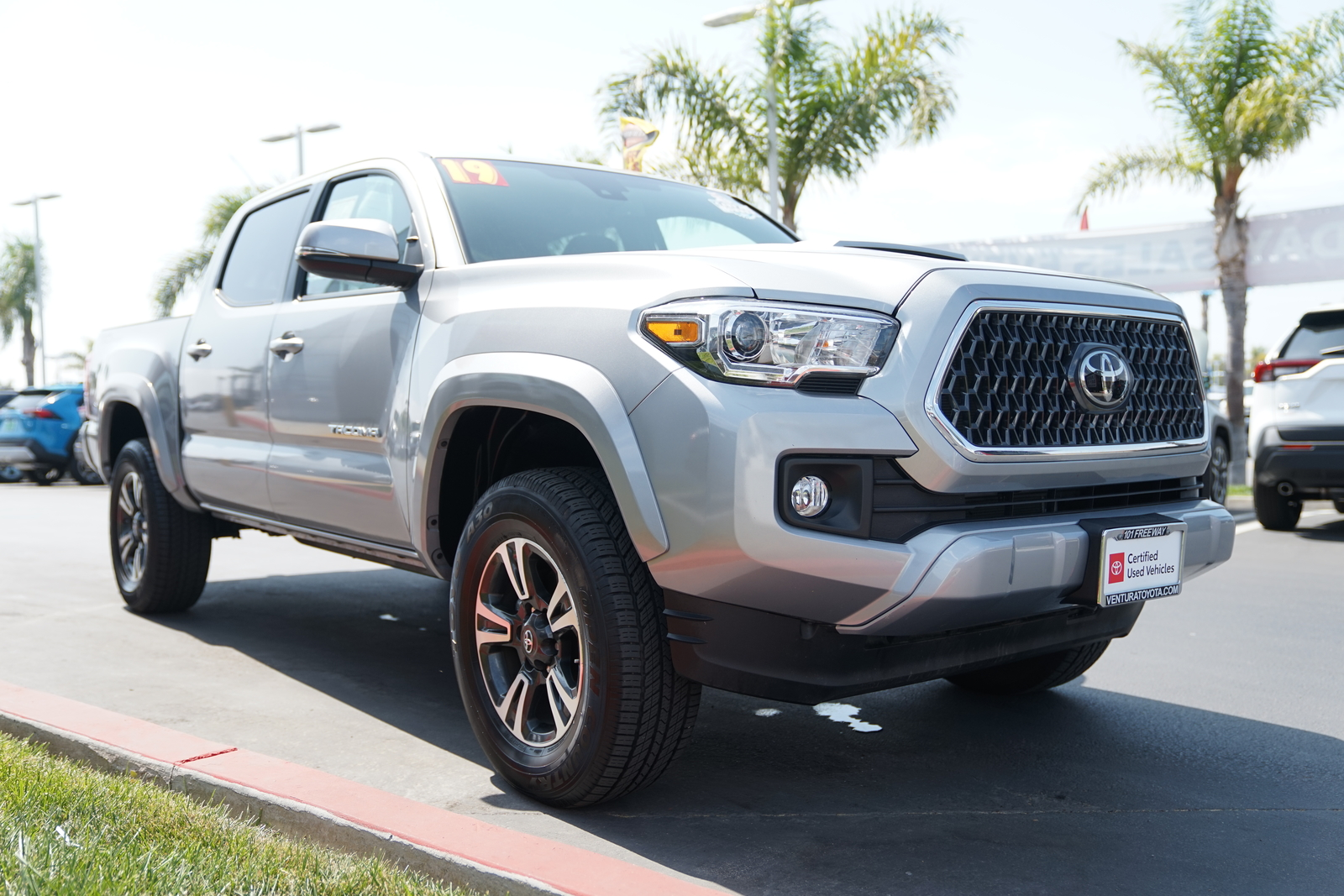 Certified Pre-Owned 2019 Toyota Tacoma 2WD TRD Sport Double Cab 5' Bed V6 AT