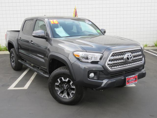 Certified Pre-Owned 2016 Toyota Tacoma 2WD Double Cab V6 AT TRD Off Road