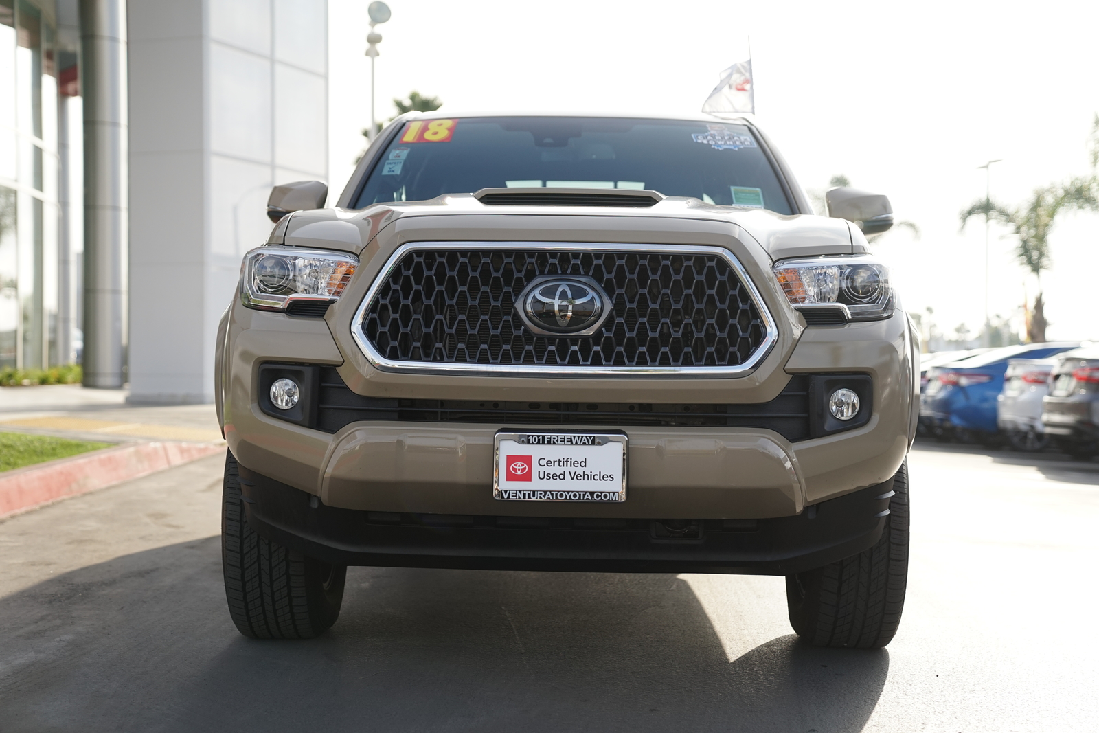 Certified Pre-Owned 2018 Toyota Tacoma TRD Sport Double Cab 6' Bed V6 4x4