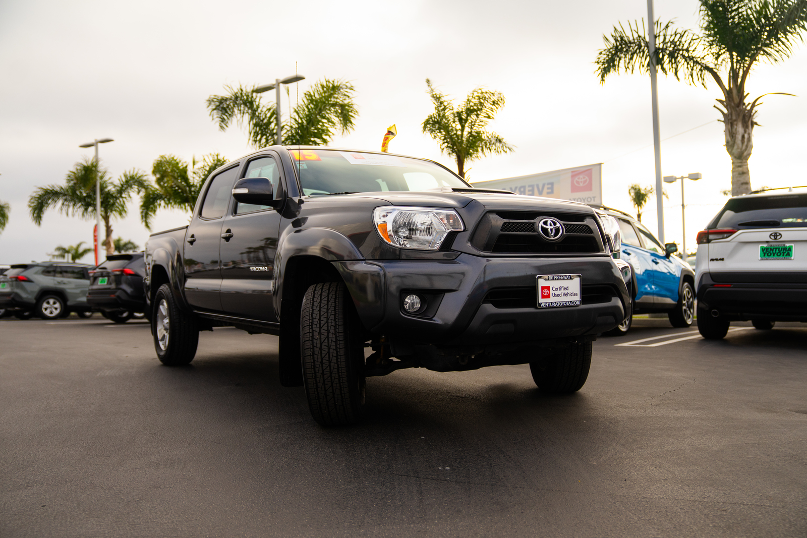 Certified Pre-Owned 2015 Toyota Tacoma 2WD Double Cab V6 AT PreRunner