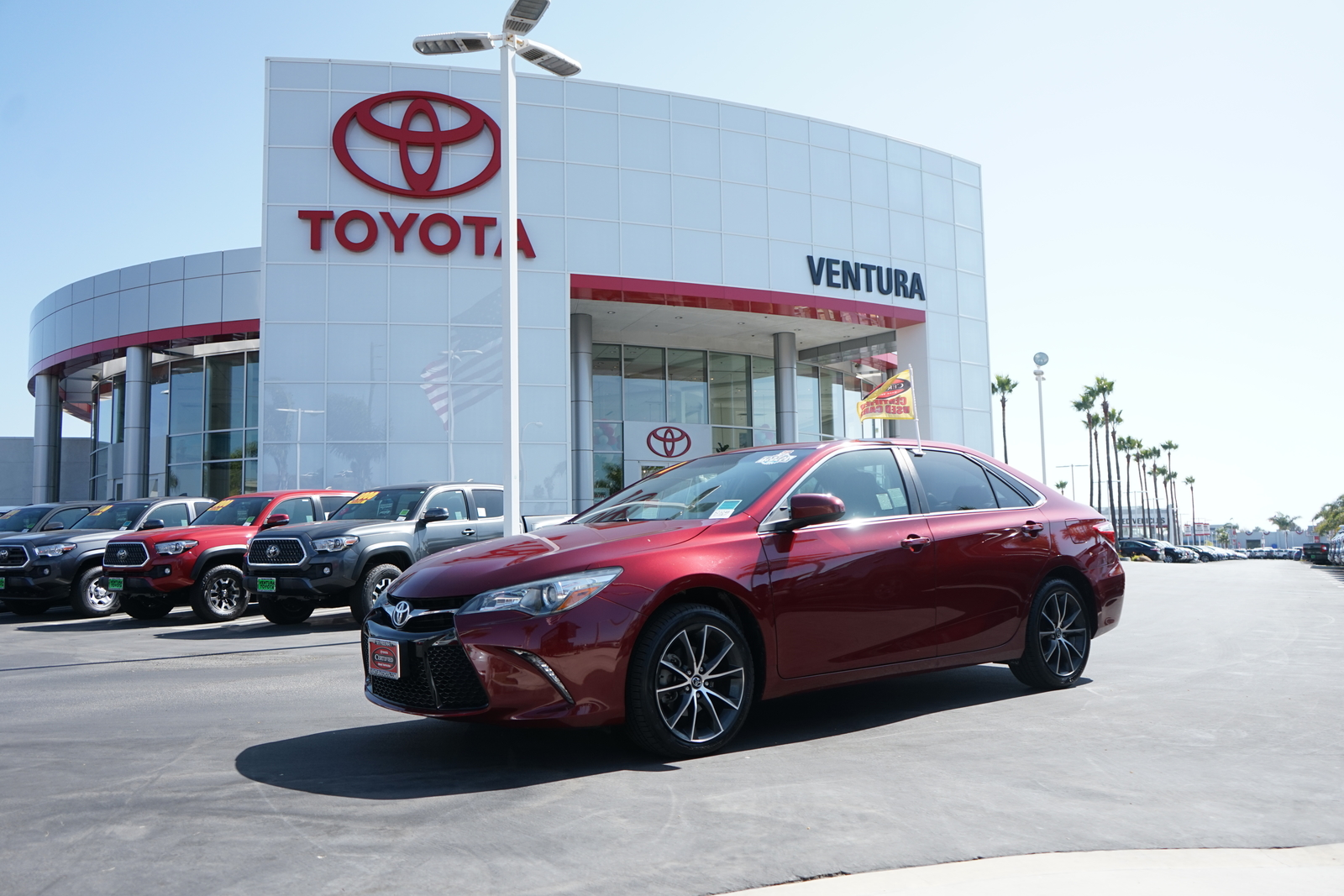 Certified Pre-Owned 2017 Toyota Camry XSE Auto