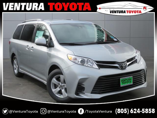 New 2020 Toyota Sienna LE FWD 8-Passenger
