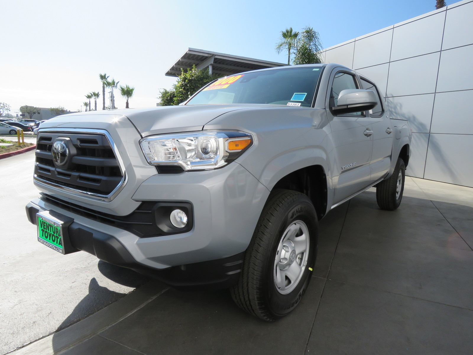 New 2019 Toyota Tacoma 2WD SR5 Double Cab 5' Bed I4 AT
