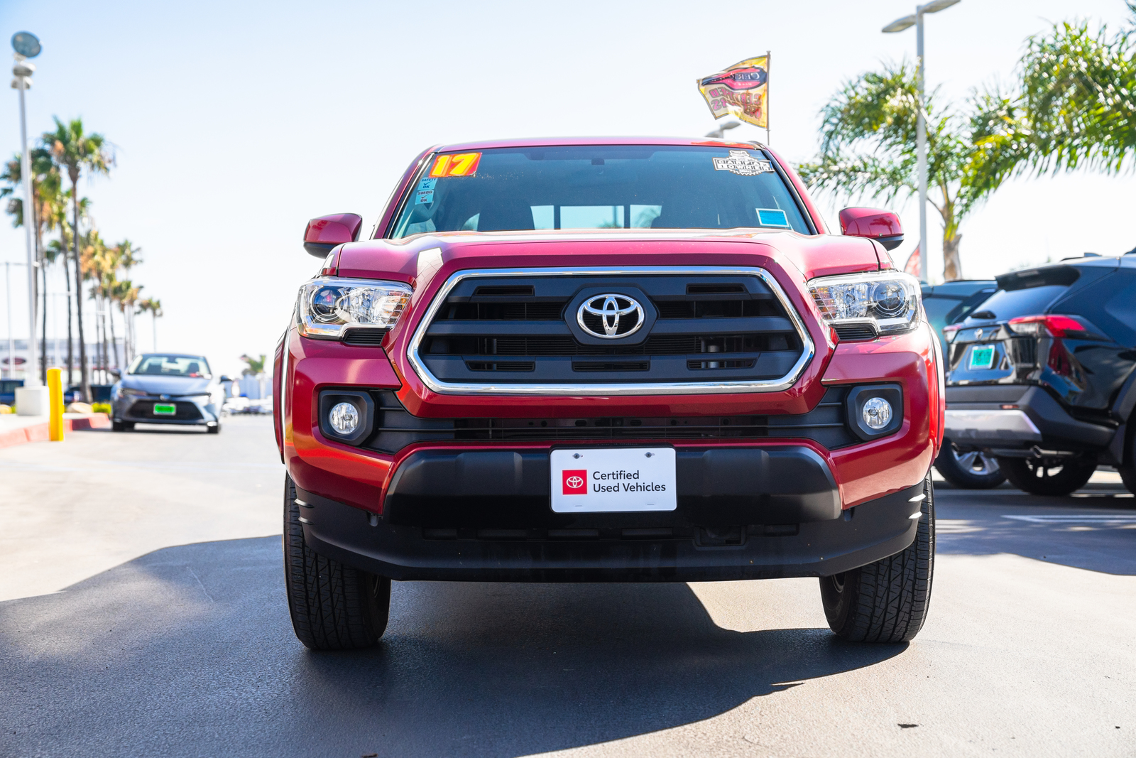 Certified Pre-Owned 2017 Toyota Tacoma SR5 Double Cab 5' Bed I4 4x2 AT