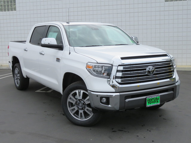 New 2019 Toyota Tundra 4WD 1794 Edition CrewMax 5.5' Bed 5.7L