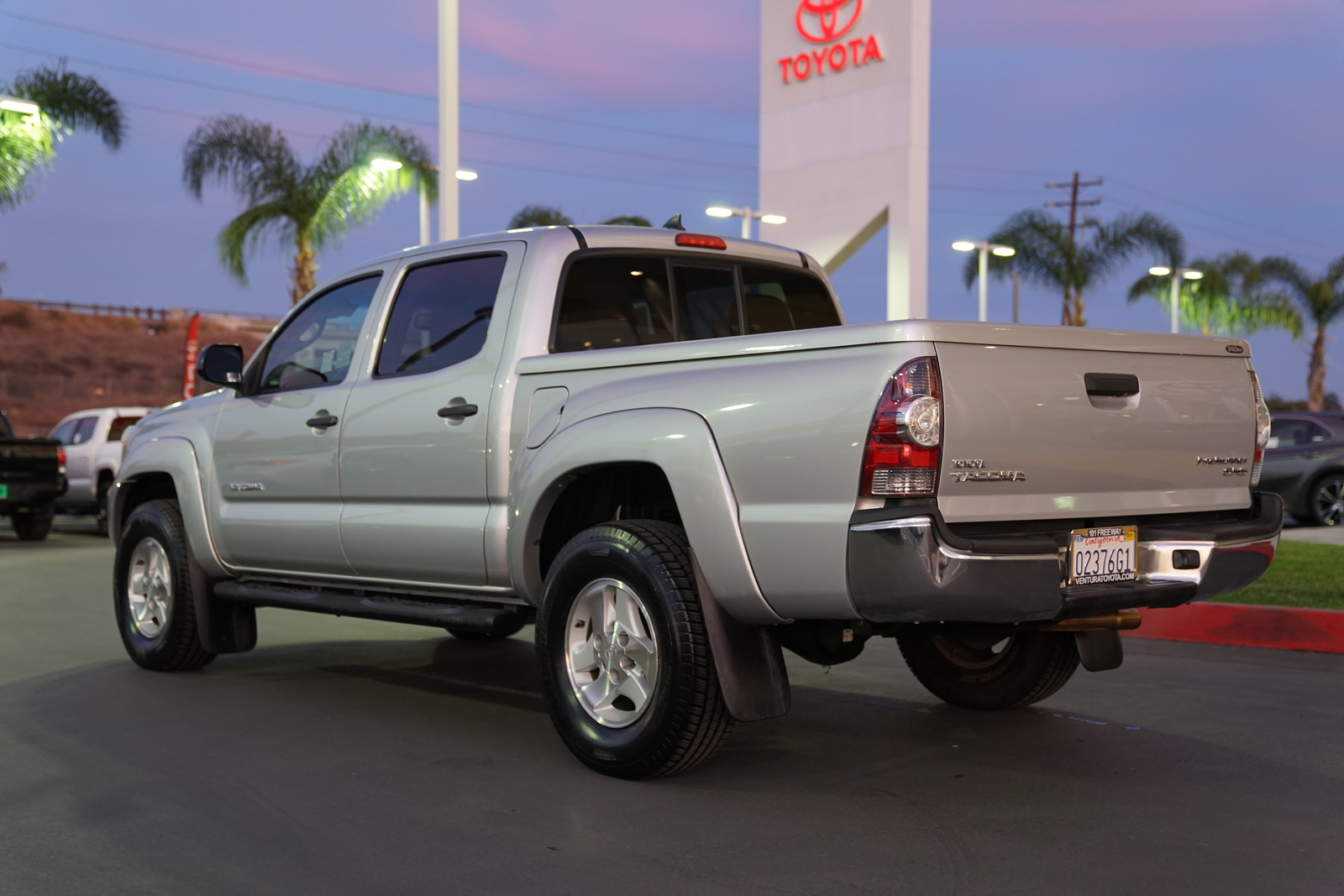 Pre-Owned 2012 Toyota Tacoma 2WD Double Cab I4 AT PreRunner