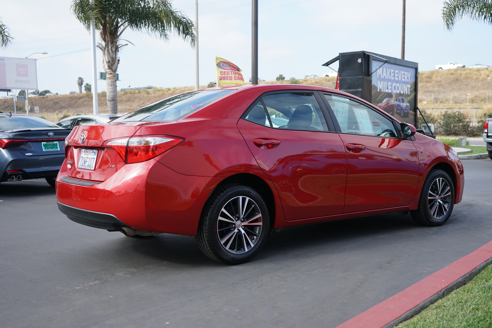 Certified Pre-Owned 2016 Toyota Corolla 4dr Sdn CVT LE Plus