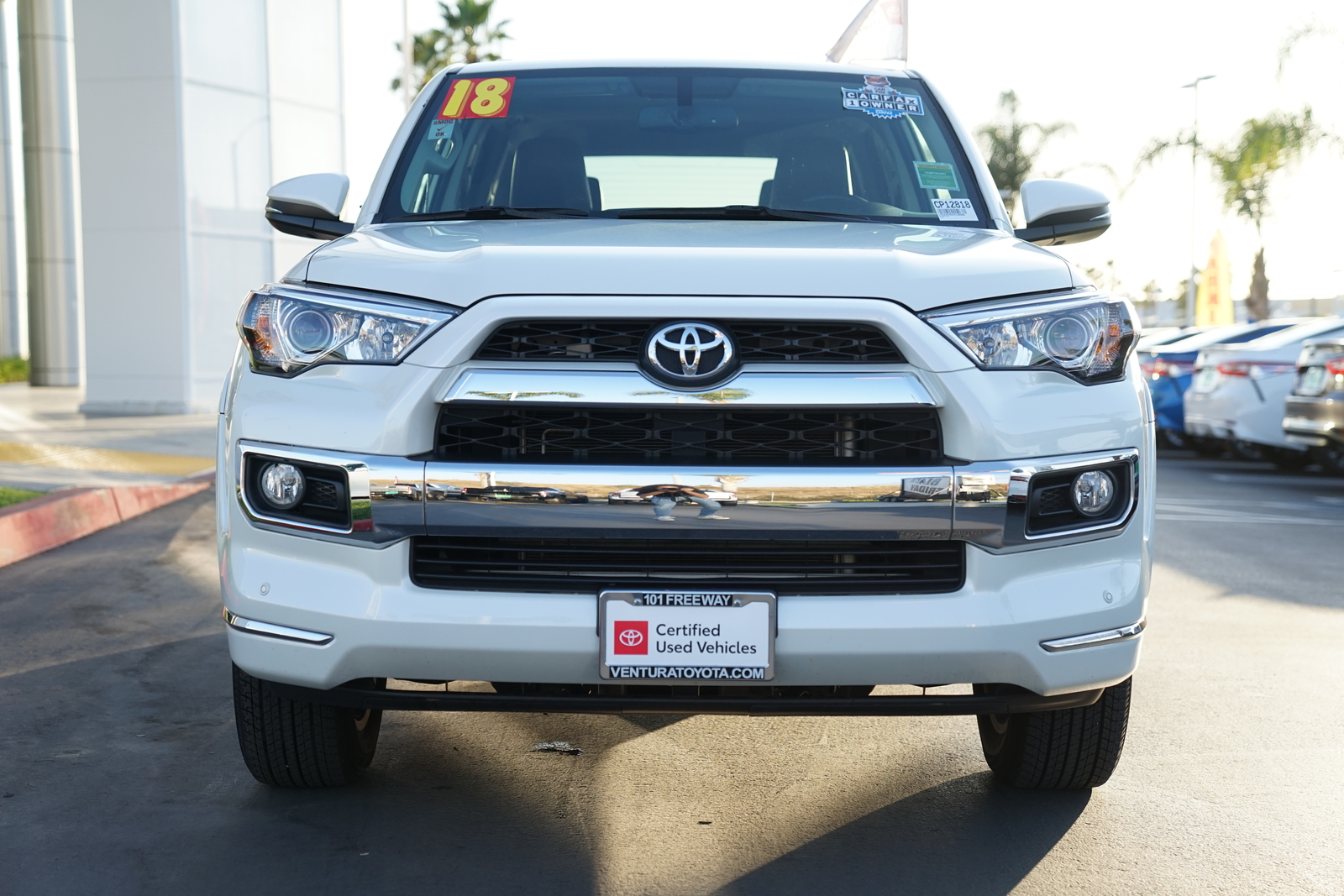Certified Pre-Owned 2018 Toyota 4Runner Limited 2WD
