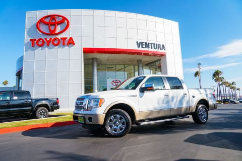 Pre-Owned 2012 Ford F-150 2WD SuperCrew 145 Lariat