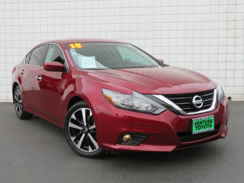Pre-Owned 2018 Nissan Altima 2.5 SR Sedan