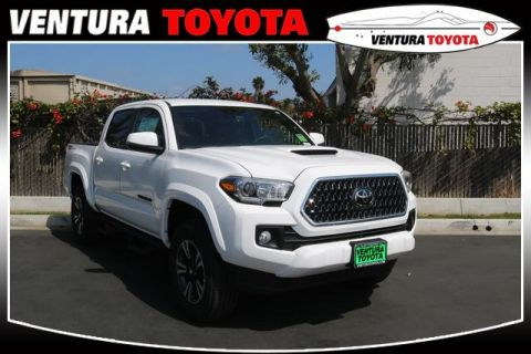 New 2019 Toyota Tacoma 2WD TRD Sport Double Cab 5' Bed V6 AT