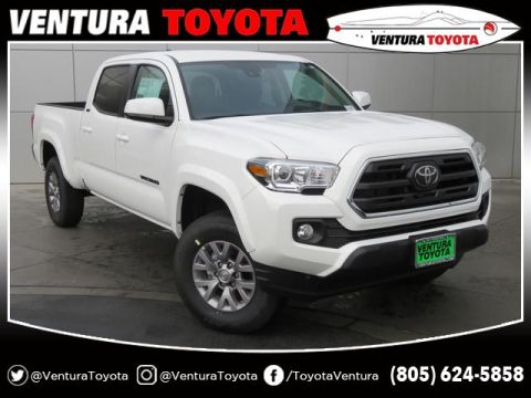 New 2019 Toyota Tacoma 2WD SR5 Double Cab 6' Bed V6 AT