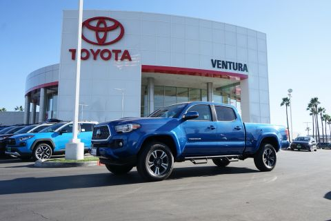 Certified Pre-Owned 2018 Toyota Tacoma TRD Sport Double Cab 6' Bed V6 4x2