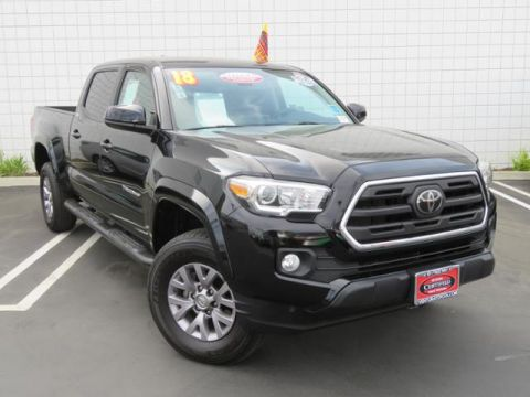Certified Pre-Owned 2018 Toyota Tacoma SR5 Double Cab 6' Bed V6 4x2 AT