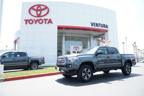 Certified Pre-Owned 2016 Toyota Tacoma 4WD Double Cab V6 AT TRD Sport
