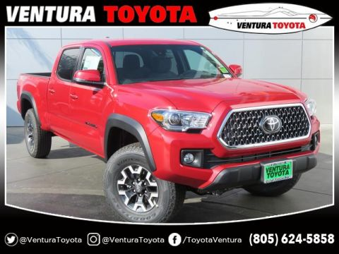 New 2019 Toyota Tacoma TRD Off Road Double Cab 6' Bed V6 A