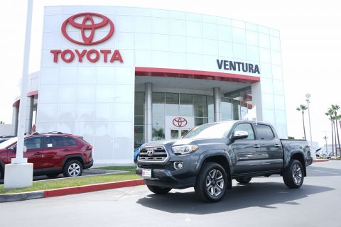 Certified Pre-Owned 2017 Toyota Tacoma Limited Double Cab 5' Bed V6 4x2 AT