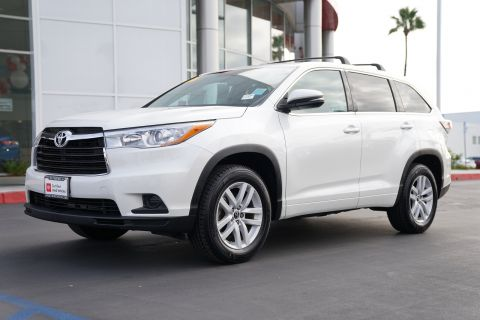 Certified Pre-Owned 2016 Toyota Highlander FWD 4dr I4 LE