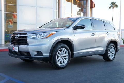 Certified Pre-Owned 2016 Toyota Highlander FWD 4dr V6 LE
