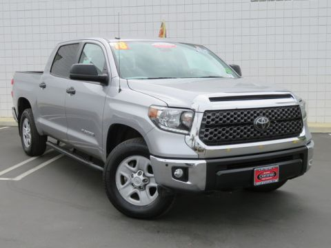 Certified Pre-Owned 2018 Toyota Tundra SR5 CrewMax 5.5' Bed 4.6L