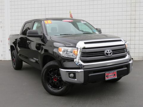 Certified Pre-Owned 2015 Toyota Tundra CrewMax 5.7L V8 6-Spd AT SR5