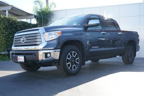 Certified Pre-Owned 2017 Toyota Tundra Limited CrewMax 5.5' Bed 5.7L