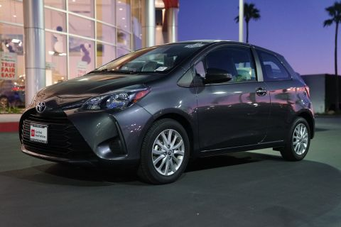 Certified Pre-Owned 2018 Toyota Yaris 3-Door LE Auto